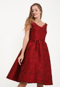 Madam-T - DANAY - Cocktail dress / Party dress - schwarz, rot - 0