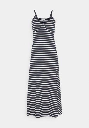 YOUNG DRESS - Maxi-jurk - white/navy