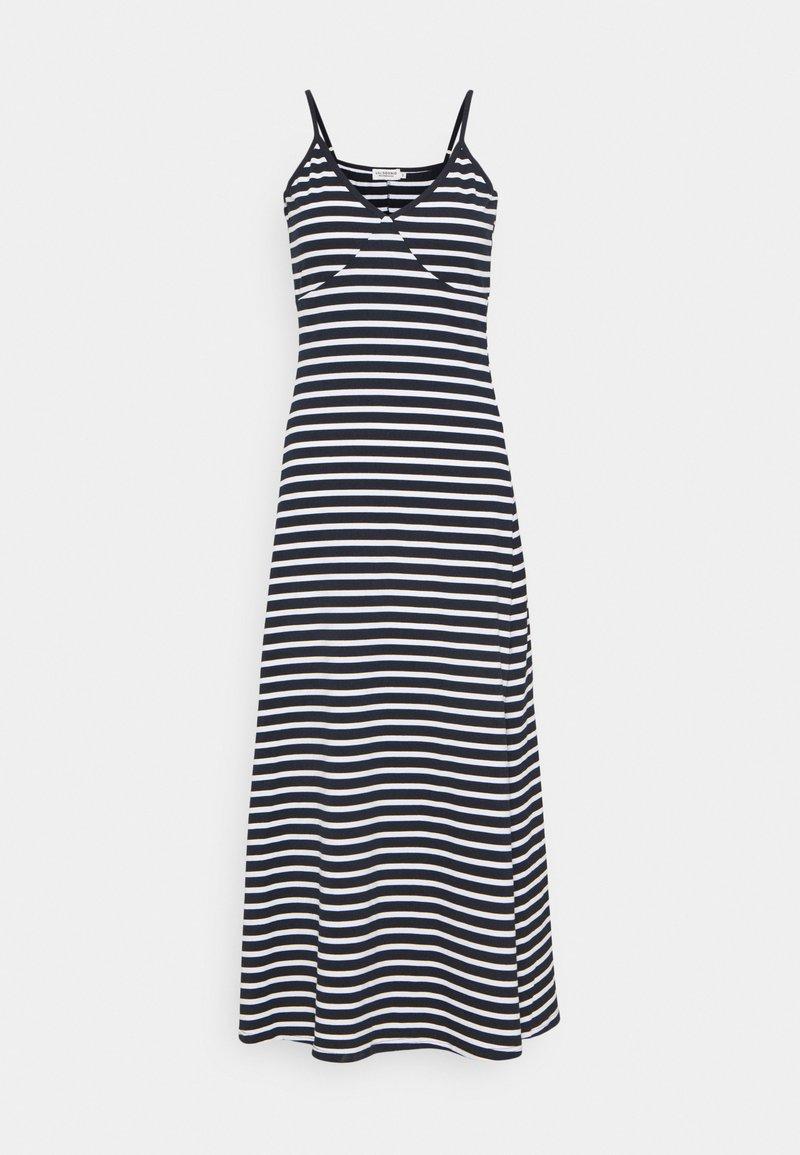 Molly Bracken - YOUNG DRESS - Maxi dress - white/navy