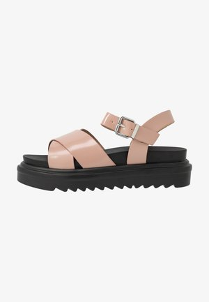 CARMEN - Platform sandals - blush