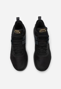 Nike Performance - AIR MAX IMPACT - Basketbalové boty - black/metallic gold/dark smoke grey - 3