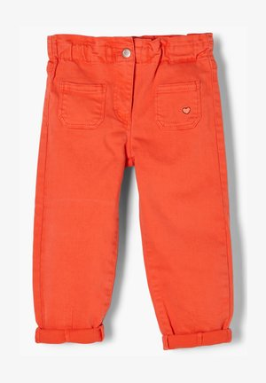 REGULAR FIT - Relaxed fit jeans - orange