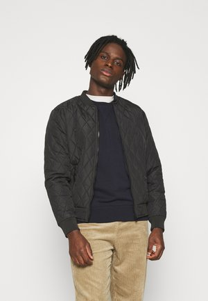 HOLBORN - Bomber Jacket - black
