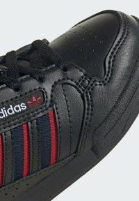 adidas Originals - CONTINENTAL 80 STRIPES SCHUH - Trainers - black - 7
