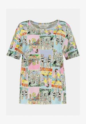 Print T-shirt - offwhite