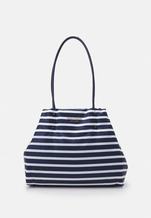 LARGE TOTE - Tote bag - squid ink multi