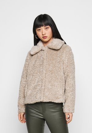 SHORT JACKET - Light jacket - cool taupe