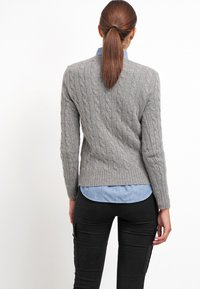 Polo Ralph Lauren - JULIANNA  - Jumper - fawn grey heather - 2
