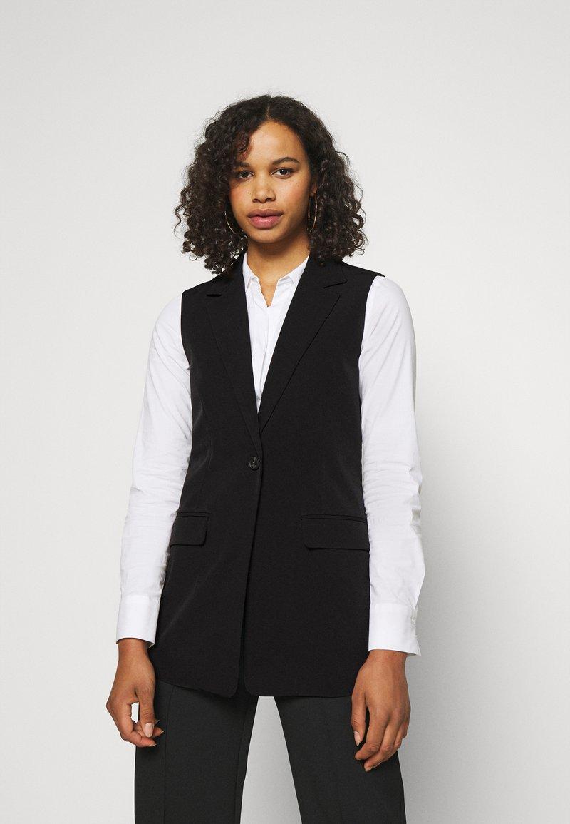 ONLY Tall - ONLKENDRA VEST  - Waistcoat - black