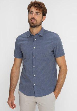 Overhemd - mottled blue