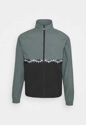 SLICE - Training jacket - black/blue oxide