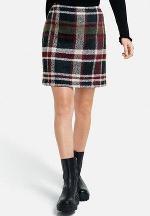 Pencil skirt - black gemustert