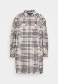 OVERSHIRT DRESS - Košilové šaty - whisper white