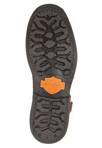 Harley Davidson - SCOUT - Cowboy/biker ankle boot - brown - 5