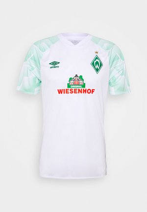 WERDER BREMEN AWAY - Fanartikel - brilliant white/ice green