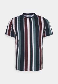 Johnny Bigg - BRENT STRIPE CREW TEE - Print T-shirt - sage - 0