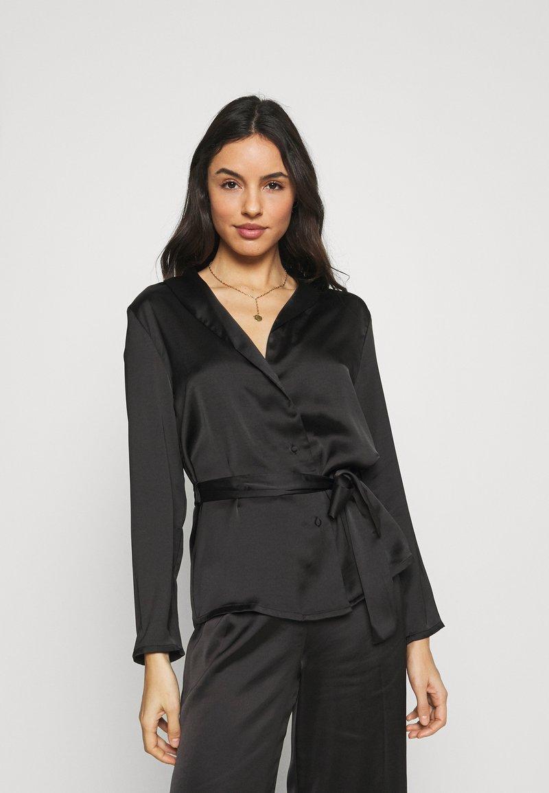 Etam - ERINA CHEMISE - Pyjamashirt - noir