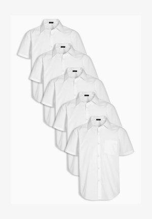 FIVE PACK  - Camicia - white