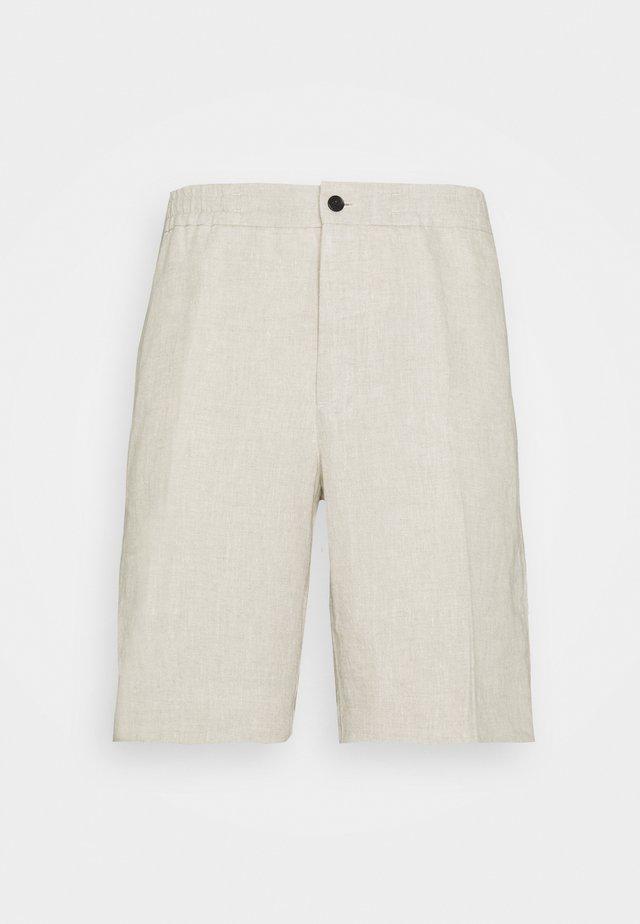SASHA DRAPE  - Shorts - sand melange