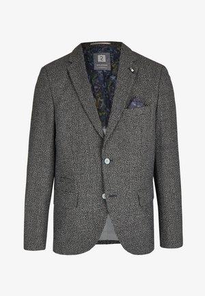 MIT MINI-KARO - Blazer jacket - grau