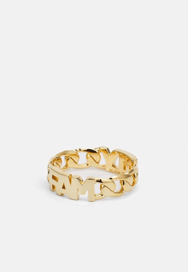 FAMILY - Ringe - gold-coloured