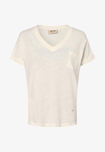 MAYA - Basic T-shirt - ecru
