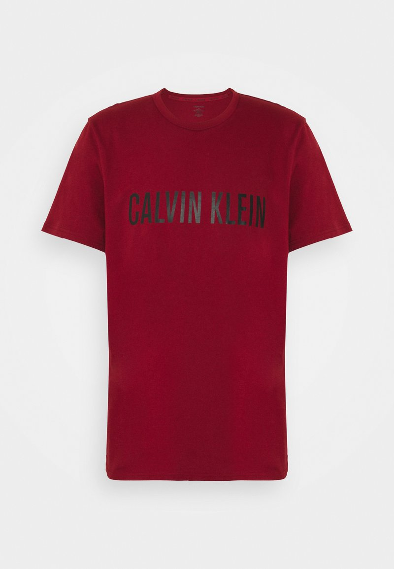 Calvin Klein Underwear - INTENSE POWER LOUNGE CREW NECK - Pyjamashirt - red