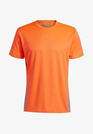 RISE UP N RUN PARLEY T-SHIRT - Print T-shirt - orange