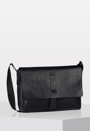 LORETO MESSANGER SHF JANIS - Across body bag - black
