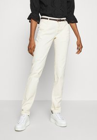 Scotch & Soda - WITH BELT - Chinos - antique white - 0