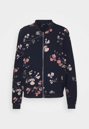 VMANNIE BOMBER TALL - Bomber Jacket - night sky/hallie