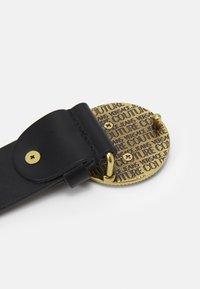 Versace Jeans Couture - CINTURA UNISEX - Pásek - nero - 3