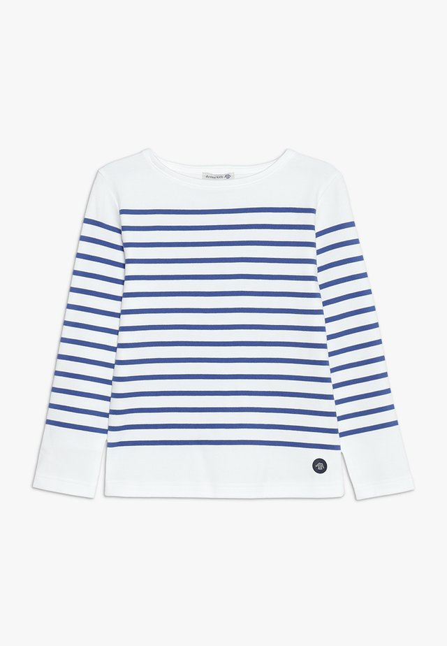 MARINIÈRE AMIRAL UNISEX - Maglietta a manica lunga - blanc/etoile
