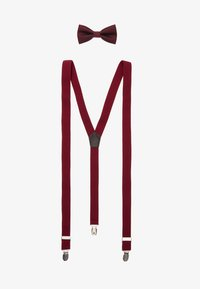 Only & Sons - ONSBOWTIE SUSPENDER SET - Bow tie - bordeaux - 0