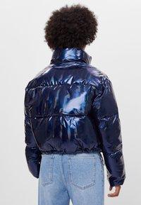 Bershka - Zimní bunda - dark blue - 2