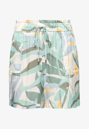 Shorts - cream aop