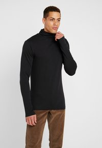Pier One - Langærmede T-shirts - black - 0