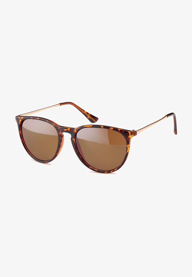 Sunglasses - gestell braun demi / glas braun