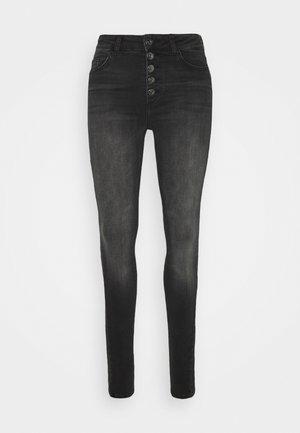 ONLBLUSH LIFE  - Skinny džíny - black denim