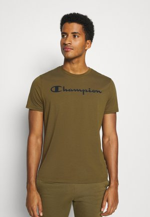 LEGACY CREWNECK - Print T-shirt - olive