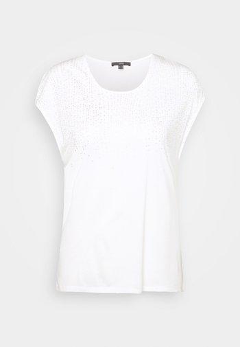 FOIL TEE - Print T-shirt - offwhite