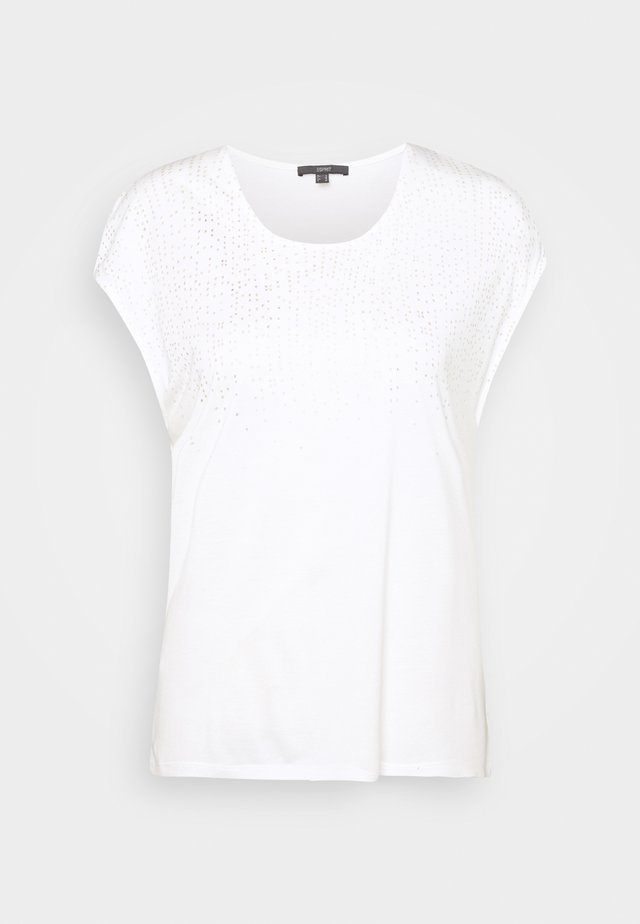 FOIL TEE - T-shirts med print - offwhite