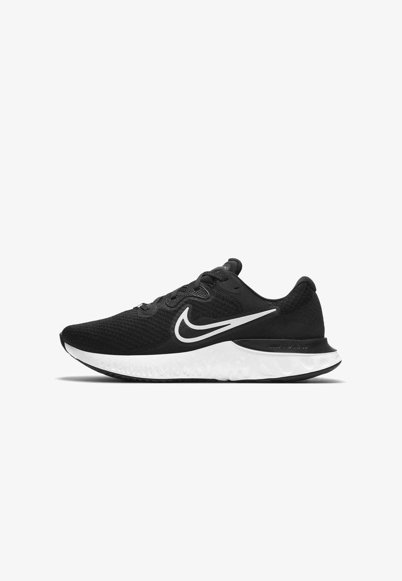 Nike Performance - RENEW RUN 2 - Neutrala löparskor - black/dark smoke grey/white