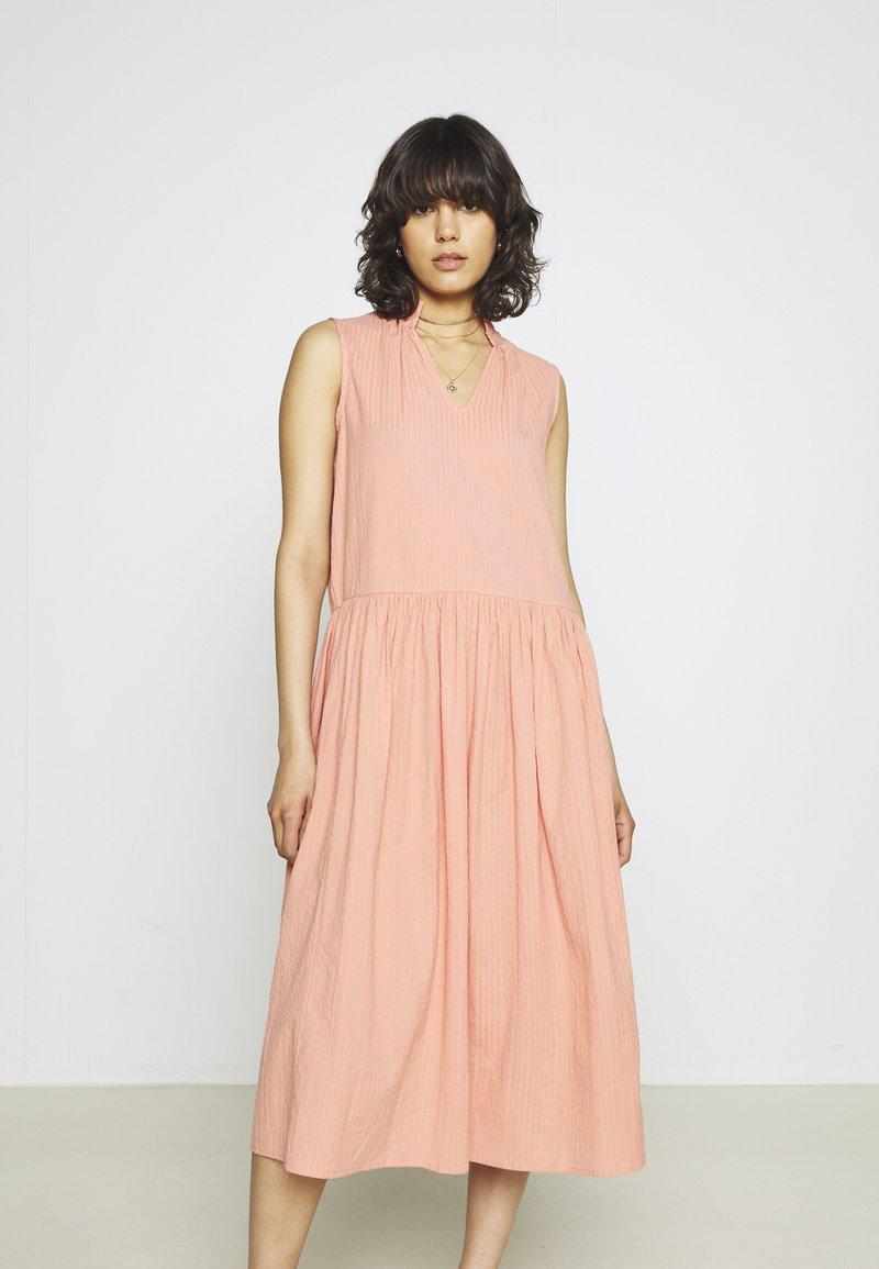 YAS - YASTERRA DRESS - Vestido informal - terra cotta