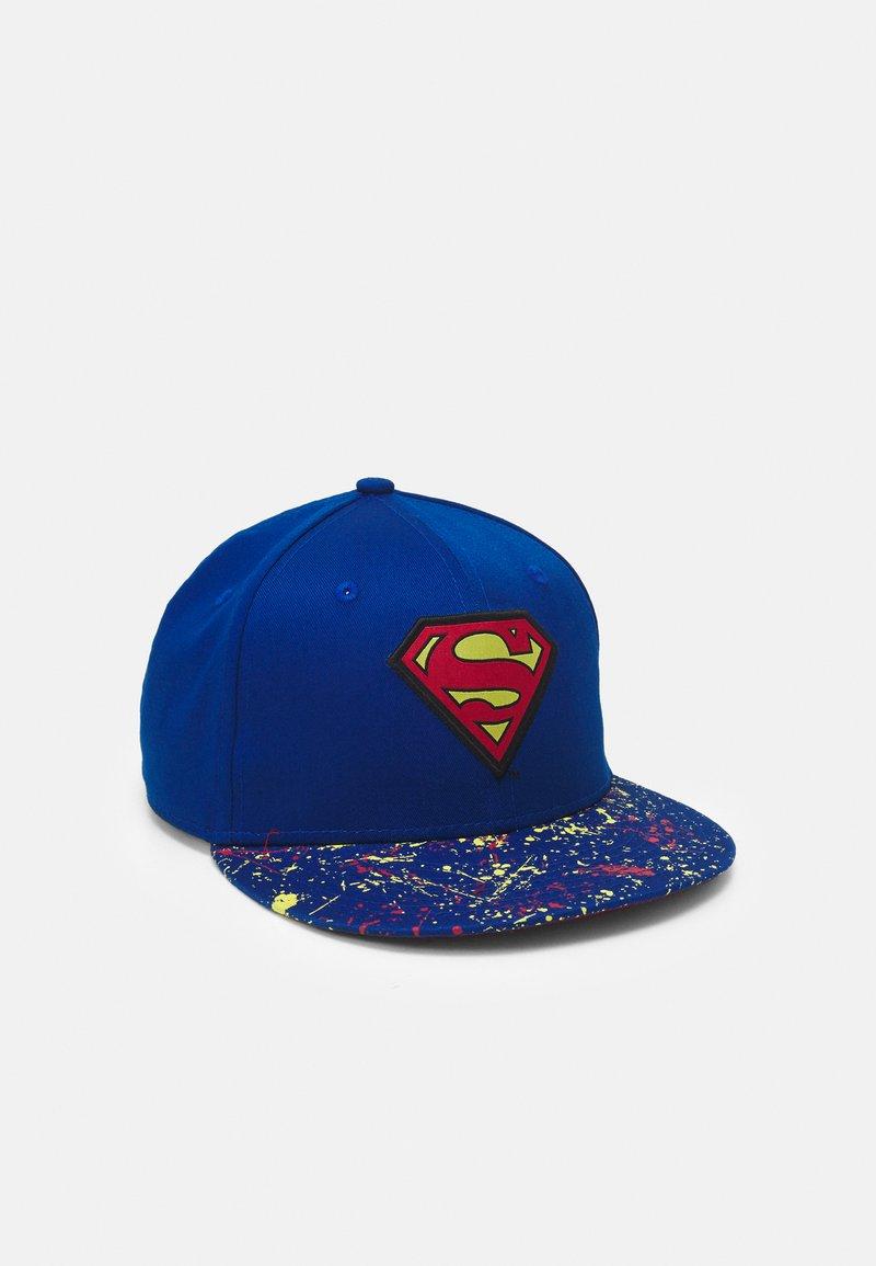 New Era - KIDS CHYT PAINT SPLAT VISOR 9FIFTY SUPERMAN UNISEX - Pet - blue