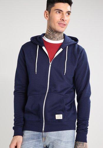 REGULAR FIT - Zip-up sweatshirt - navy
