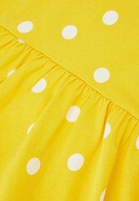 DeFacto - Jersey dress - yellow - 3