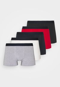 5 PACK - Pants - dark blue /black/red
