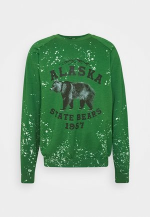 ALASKA STATE BEARS CREWNECK  - Sweater - green