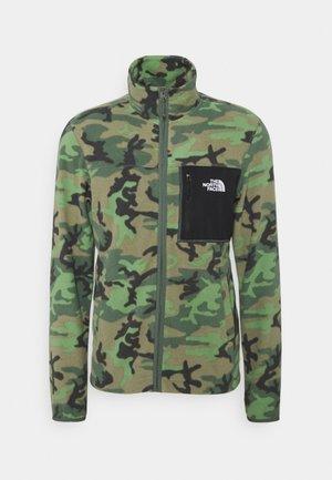HOMESAFE FULL ZIP  - Fleece jacket - thyme brushwood